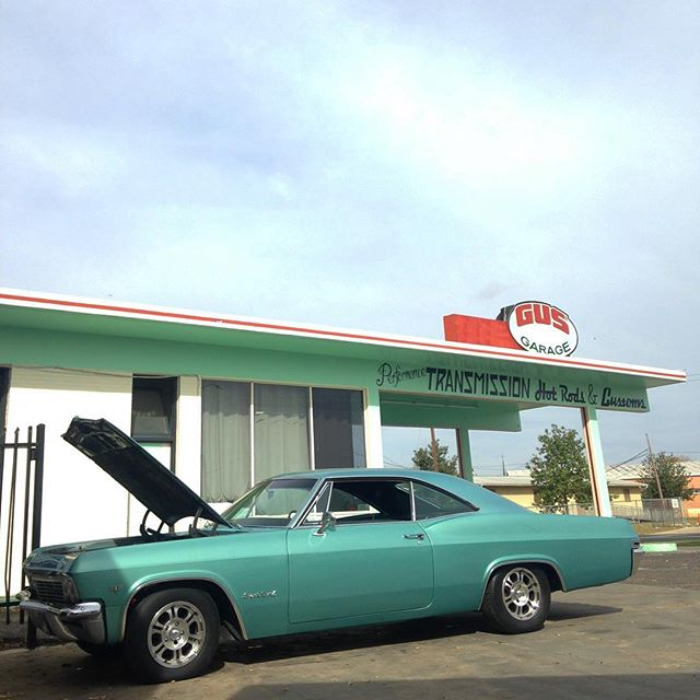 Another beautiful day!  #gusgarageatx #chevyimpala