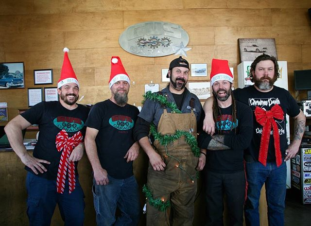 Happy Holidaze and a Happy New Year to you and yours from all of us here at Gus' Garage!