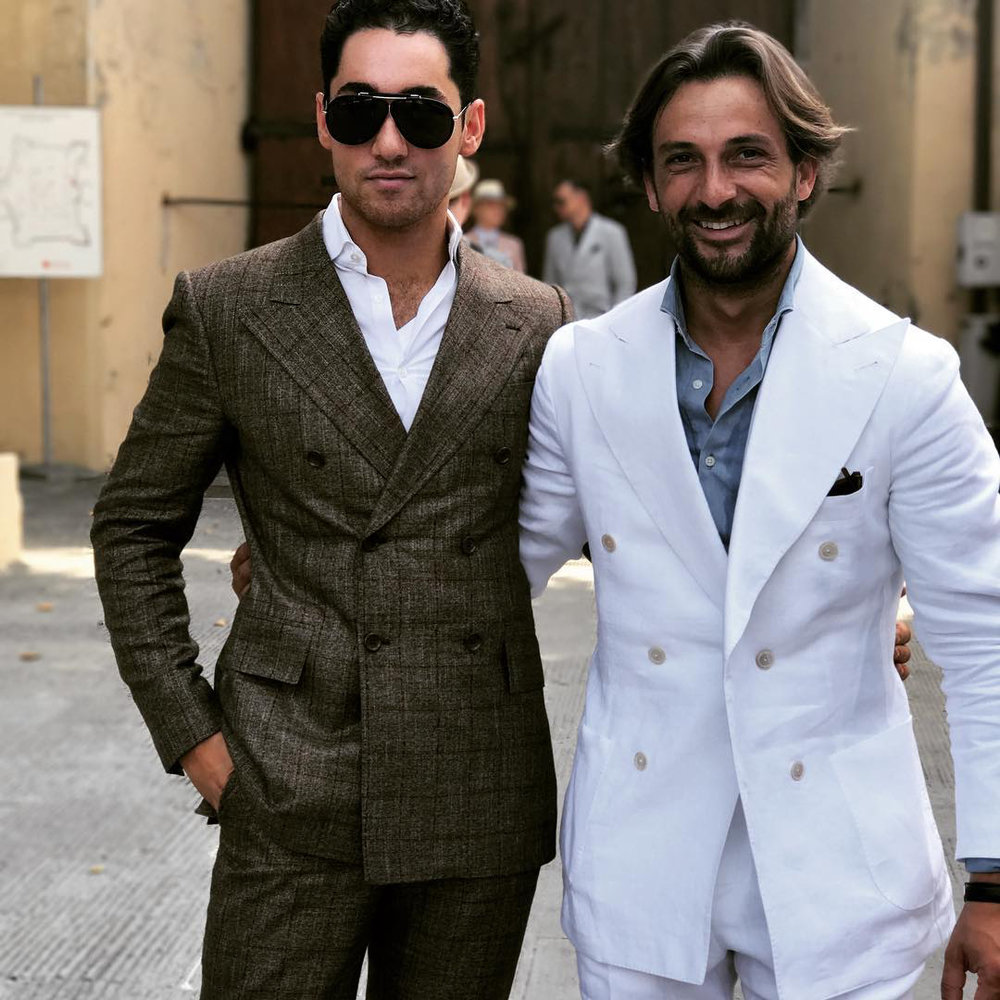 - Ralph Behk wearing the Damian SuitLocation: Pitti Immagine in Florence, Italy