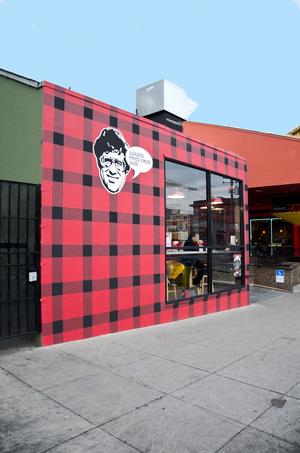 Smoke's Poutinerie mural.
