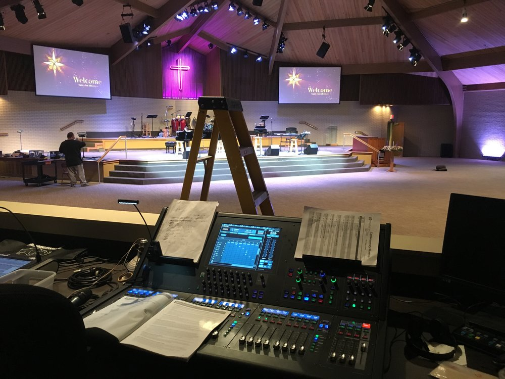 House of Worship  - Audio and Video Systems (Client - Louisville, KY)