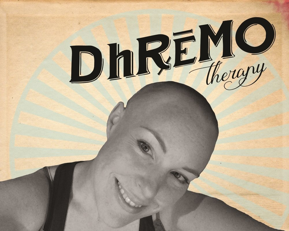 Here's me a week after I lost my hair from chemotherapy. An equally terrifying and liberating experience!  I will never be so attached to something so unimportant again.
