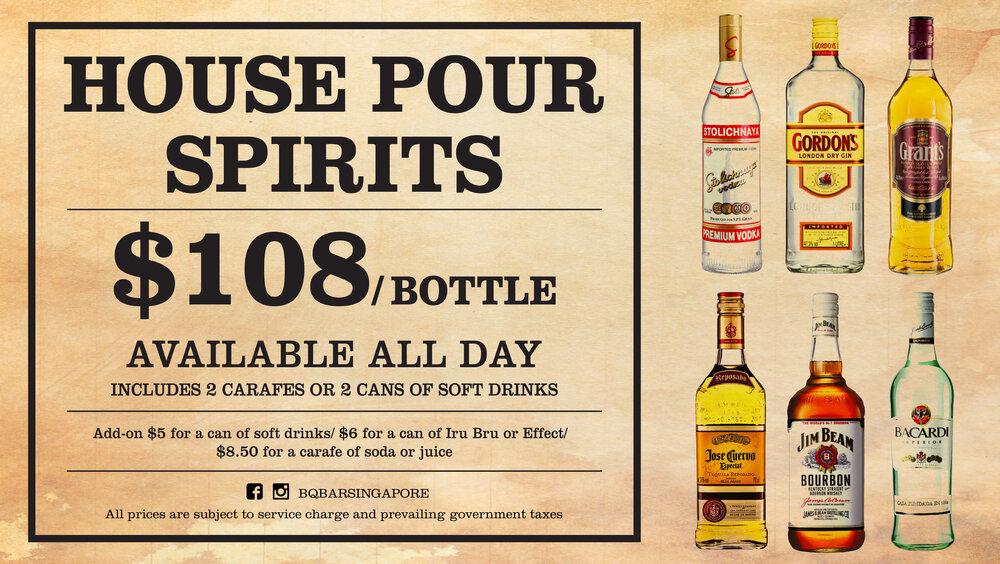 House Pour Spirits