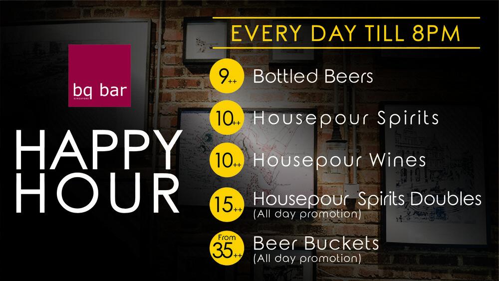Happy Hour at BQ Bar