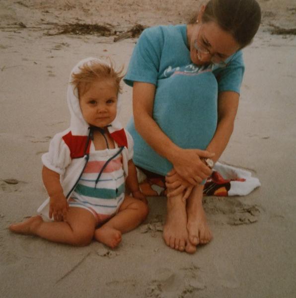 Martha & Ash circa 1986