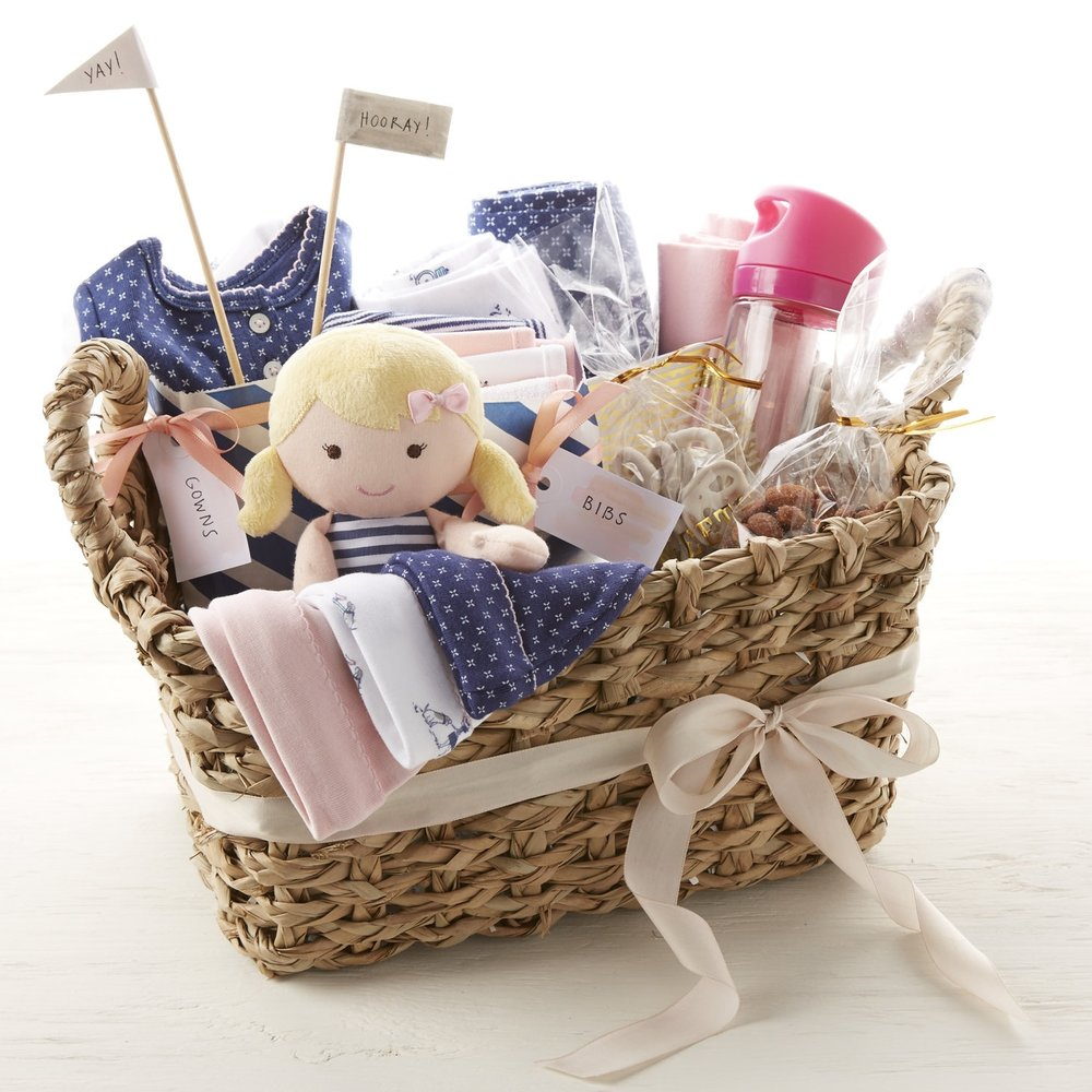 New Mom Gift Basket  for  Carter's |   Steve Pomberg