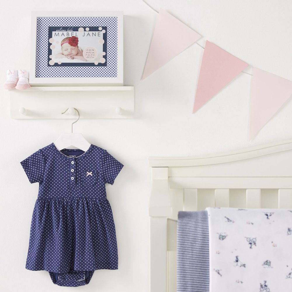 Baby Girl Nursery  for  Carter's |   Steve Pomberg