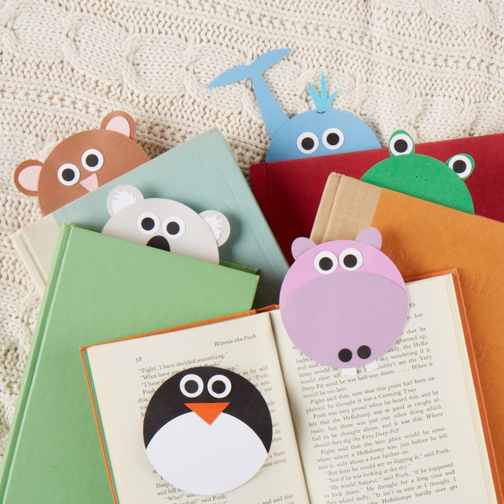 Animal Bookmarks  for  Carter's |   Steve Pomberg