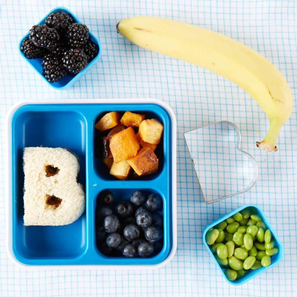 Alphabet Bento Box Lunch  for  Carter's |   Steve Pomberg