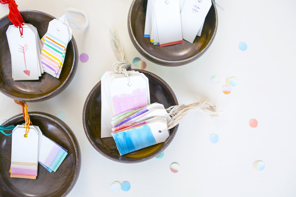 Hand-Painted Watercolor Paper Goods  for  Charlotte Lane |   Heidi Geldhauser
