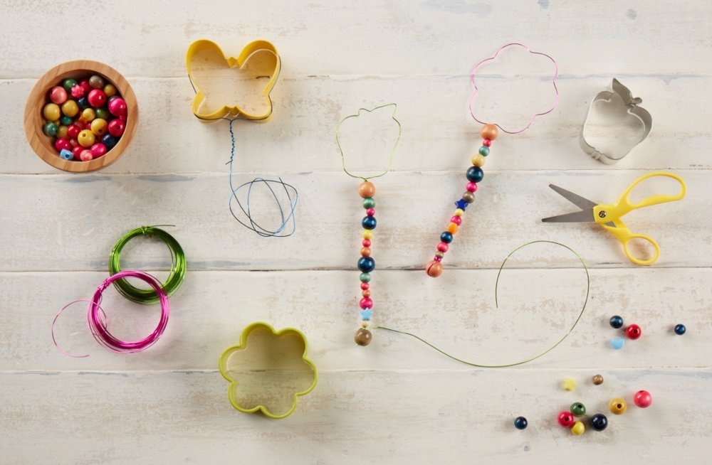 Beaded Bubble Wands  for  Oshkosh B'Gosh |   Steve Pomberg
