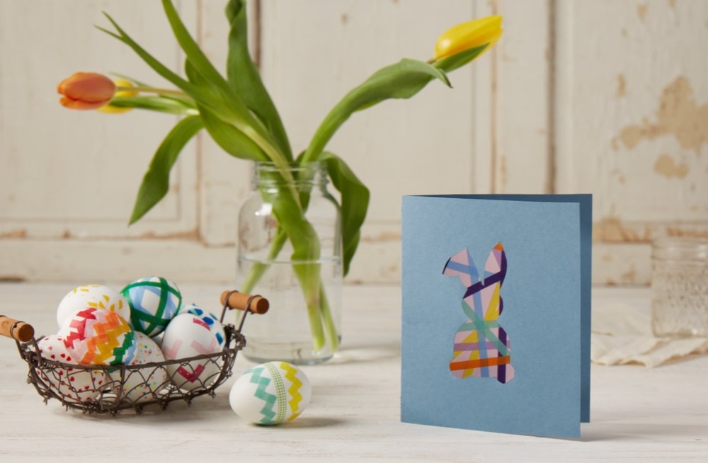 Washi Tape Easter Crafts  for  Carter's |   Steve Pomberg