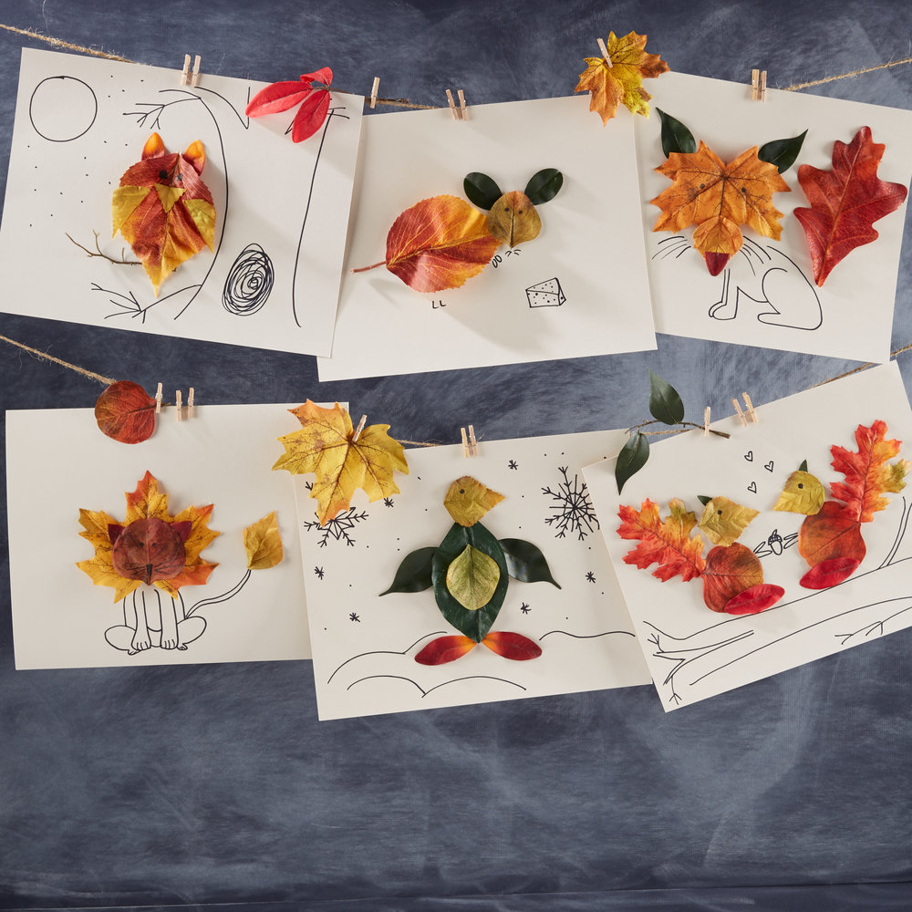 Fun with Fall Leaves  for  Oshkosh B'Gosh |   Steve Pomberg