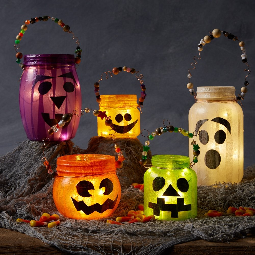 Jar-o-Lanterns  for  Oshkosh B'Gosh |   Steve Pomberg