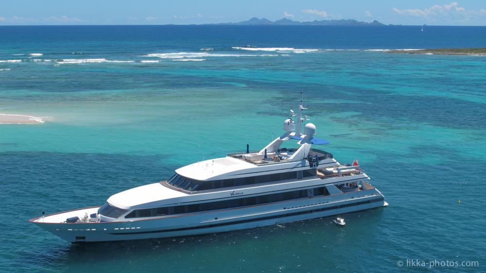 Mega yacht - st barth - st maarten - billionaire - yachting