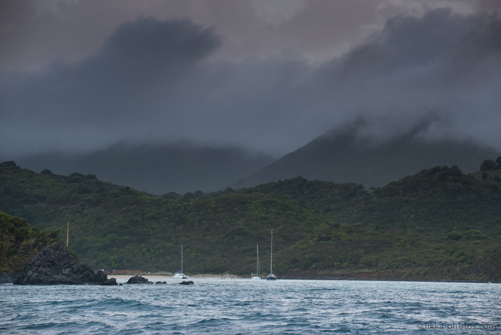 cloudy - sunday - sailing - caribbean - likka
