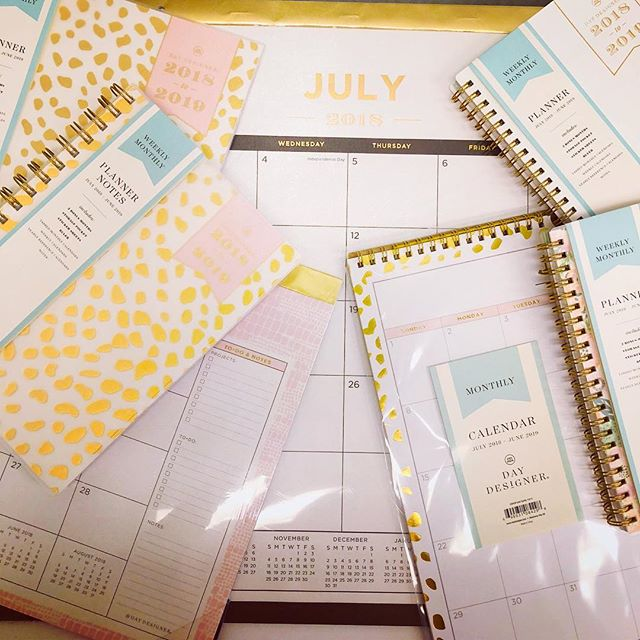 Using @thedaydesigner for @blueskyplanners to get the lab organized for summer💕 #phdlife #plannerlover #planneraddicts #blkwmnplan #plannergirl #blushandgold #officedepothaul #gradlife #gradlifechic