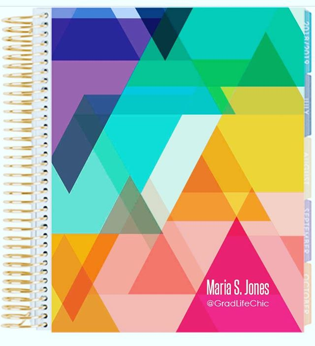 Loving this bright and happy @erincondren cover! Now to choose between colorful horizontal or vertical #planneraddictproblems #eclifeplanner #plannergirl #blkwmnplan #plannercommunity #wlec