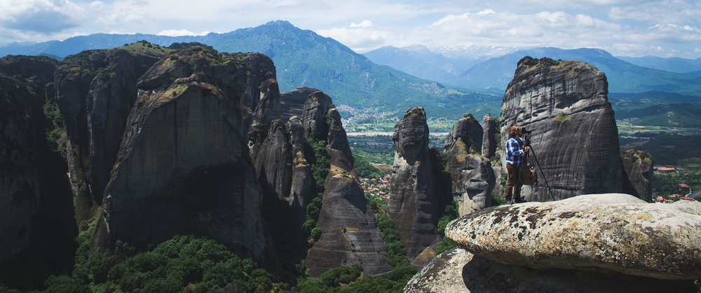 Working on a project within the monasteries of Metéora, Greece | 2013