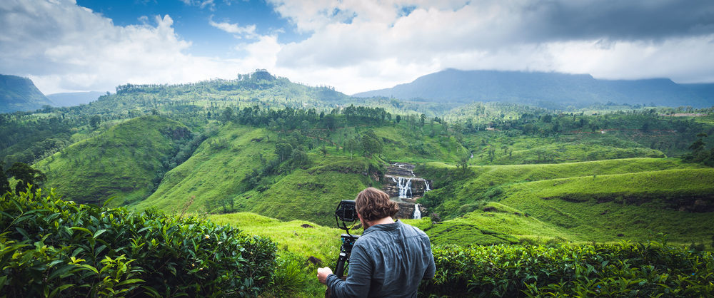 Working on a project in the tea plantations of Nuwara Eliya, Sri Lanka | 2015