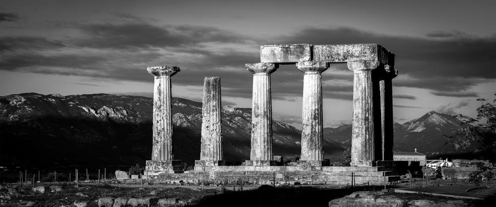 Temple of Apollo | Ancient Corinth, Greece | 2014