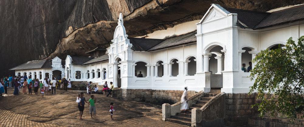 Golden Temple of Dambulla | Sri Lanka | 2015