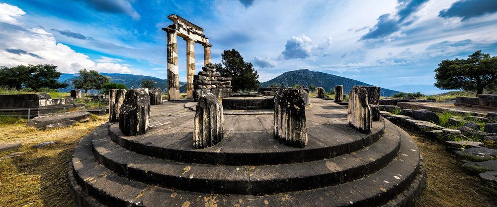 Sanctuary of Athena | Delphi, Greece | 2013
