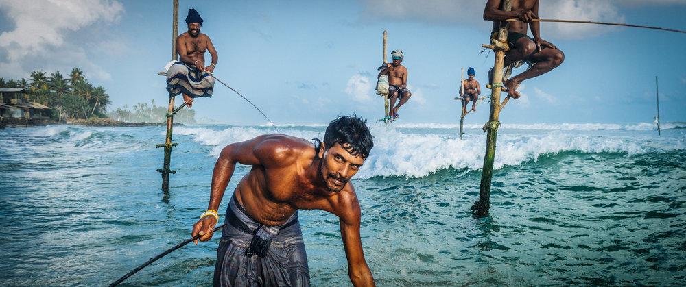 Stilt Fishermen | Sri Lanka | 2015