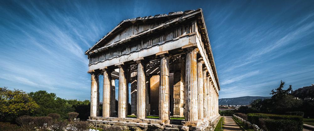 Temple of Hephaestus | Greece | 2015