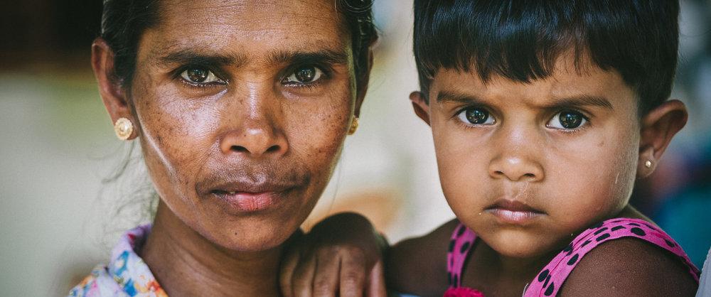 Woman & Grandchild | Sri Lanka | 2015