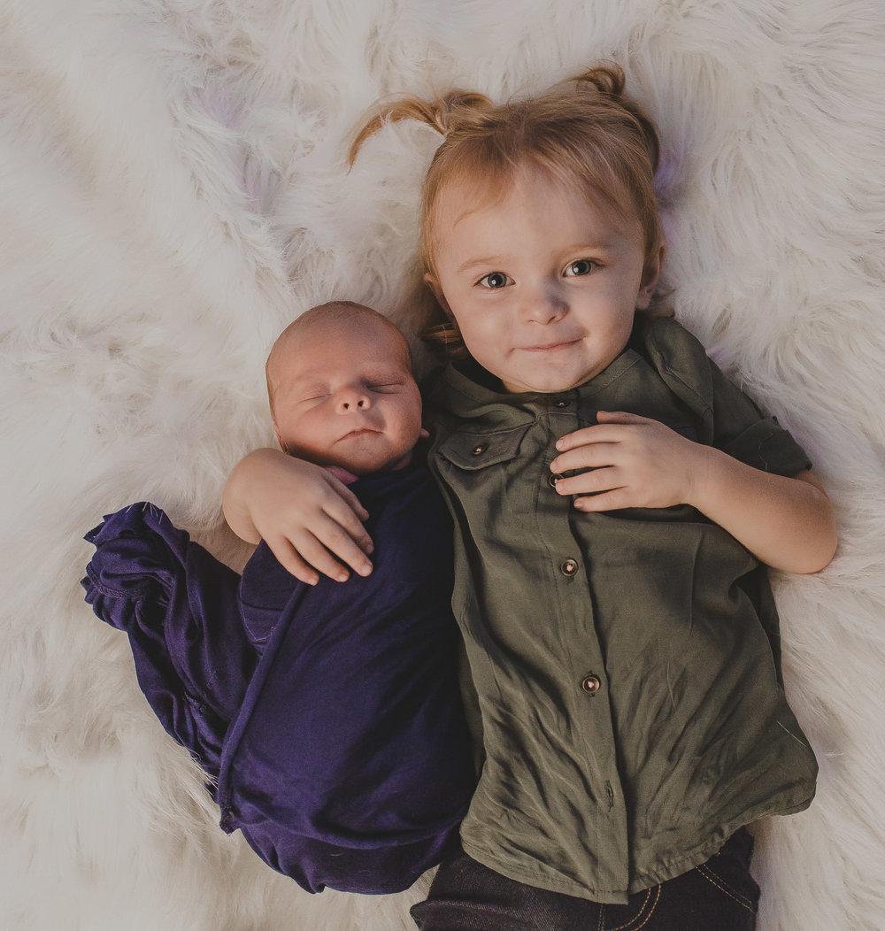 Sibling and Newborn shot