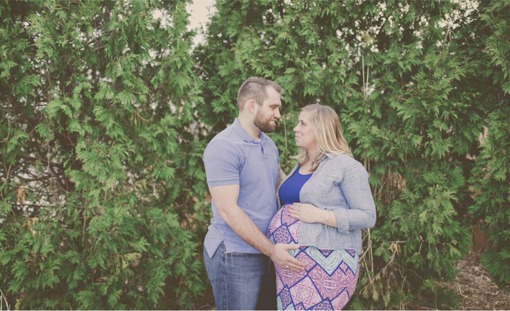 Katie and Eric Huber Maternity