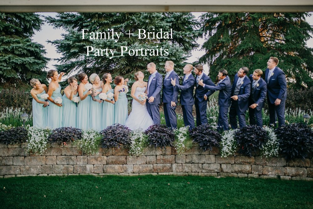 Jamie and Reed Bridal Party