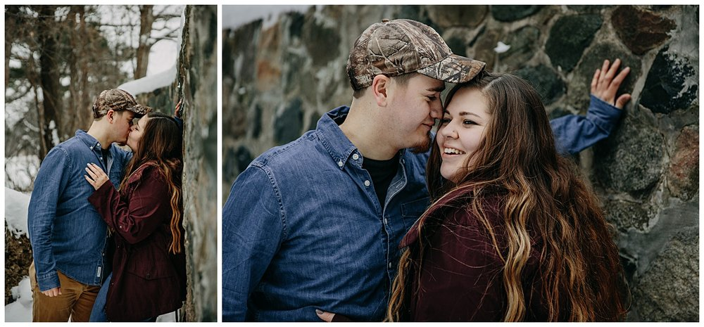 Stony-Creek-Metropark-Shelby-Township-Winter-Engagement-Session