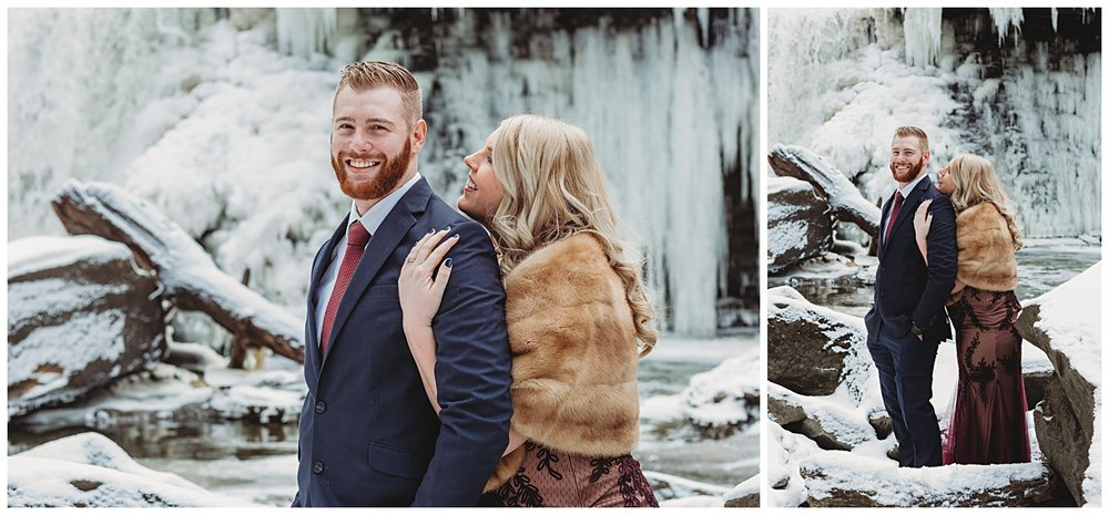 Viaduct Park Ohio Engagement Session
