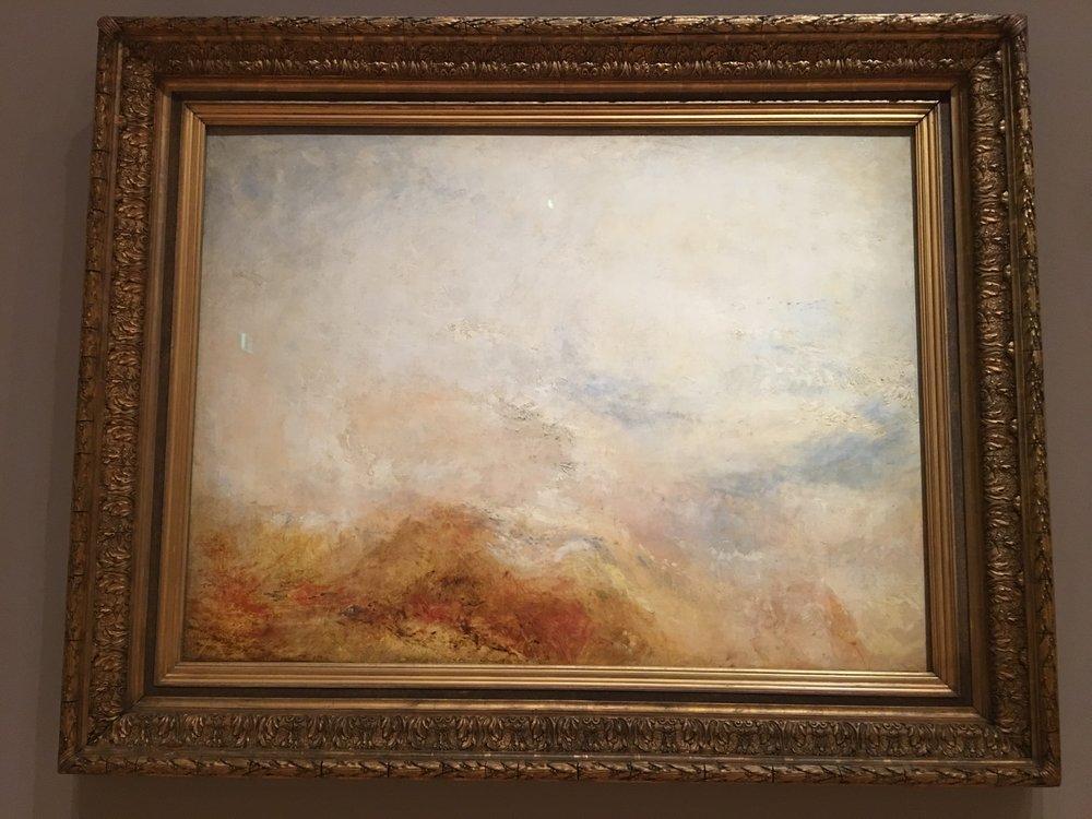 J.M.W Turner, Falls of Schaffhausen, 1845