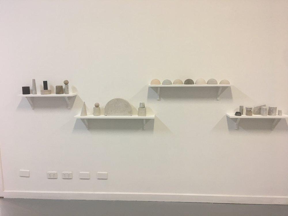 Roman Concrete installation by Daniella Ruffino