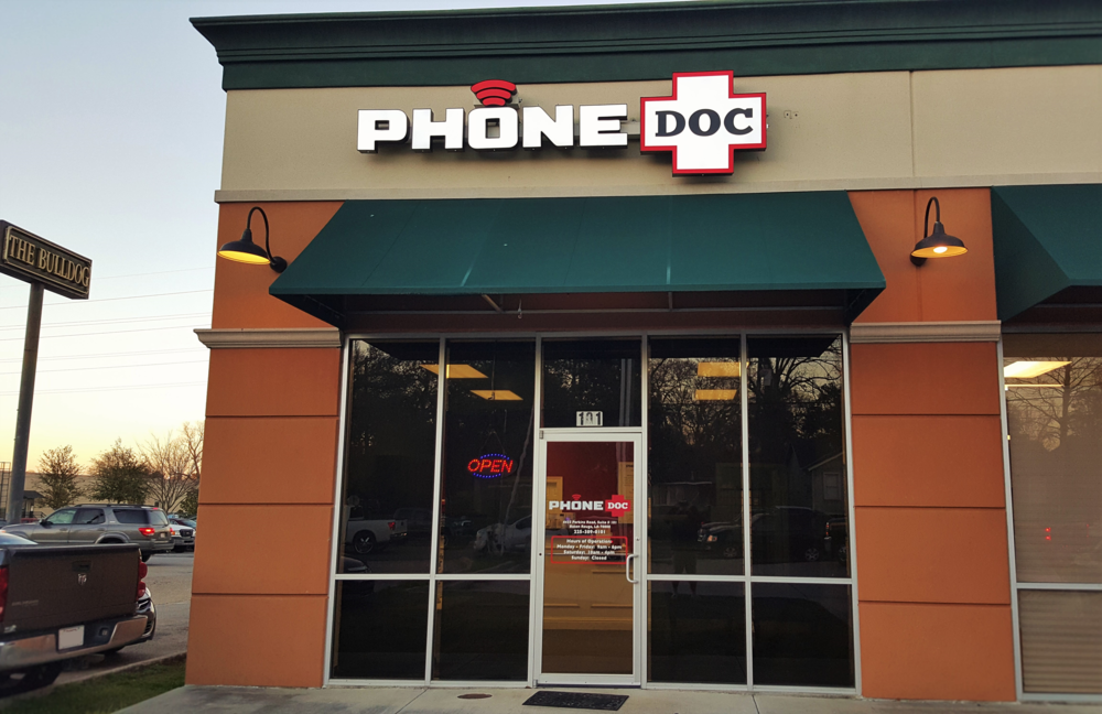 iphone repair baton rouge baton phonedoc louisiana s choice for iphone 4845