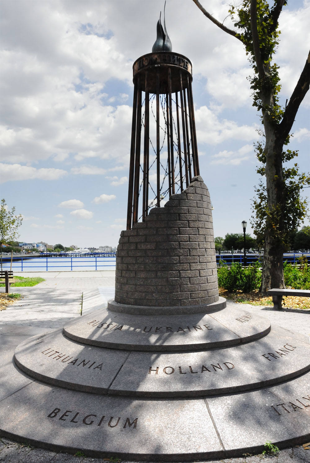 Sheepshead Bay  |  new york's first public holocaust memorial holds the name of every country effected and sits at the sheepshead bay footbridge.    Transportation  | B/Q Train to Sheepshead Bay.   Junket Tip  | Walk toward the water on Sheepshead Bay Road and hang a right at the water. Find the holocaust memorial at the corner of Emmons and West End Avenue.