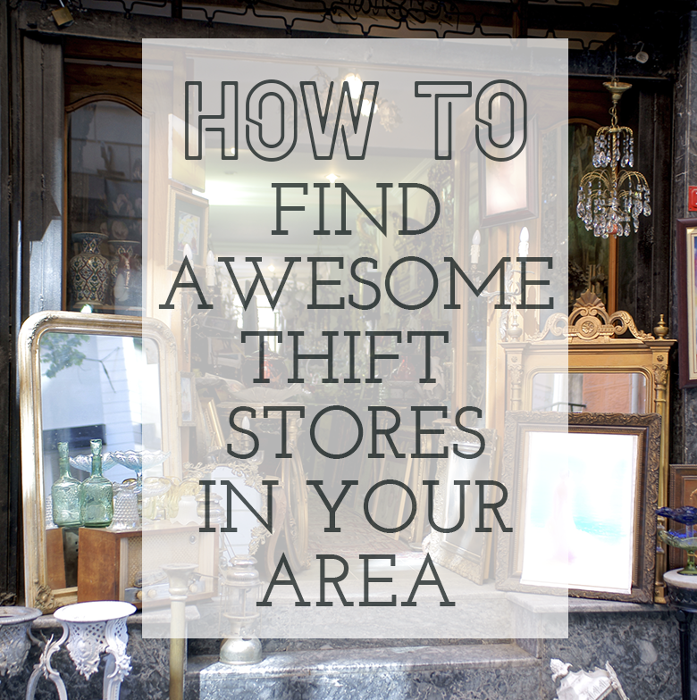 How to find thrift stores in your area
