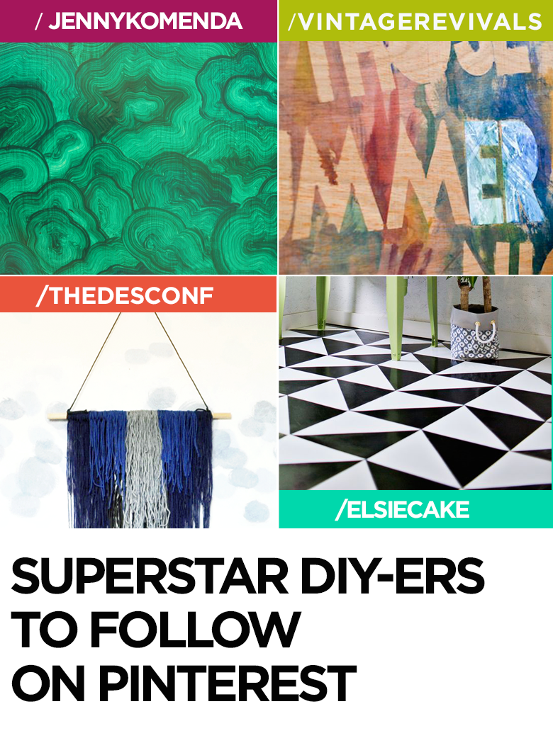 The Best DIY Bloggers to follow on Pinterest