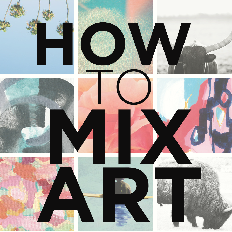 how to mix art