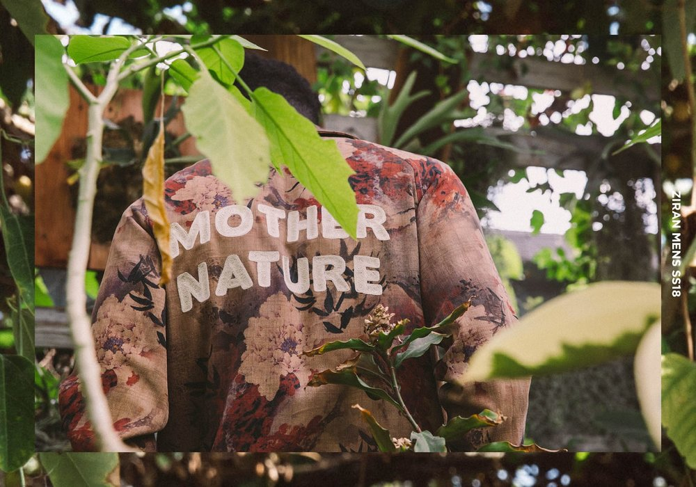 Mother Nature Lookbook   View the collection >