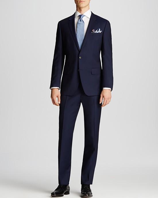 Hugo Boss Navy Suit
