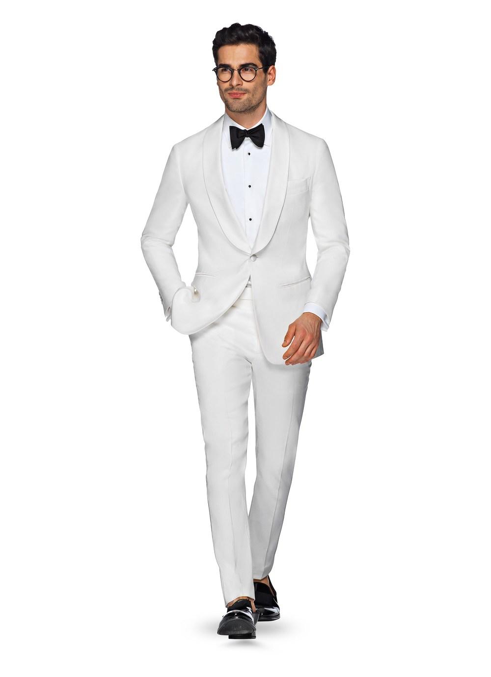 Suit Supply Summer White Tux
