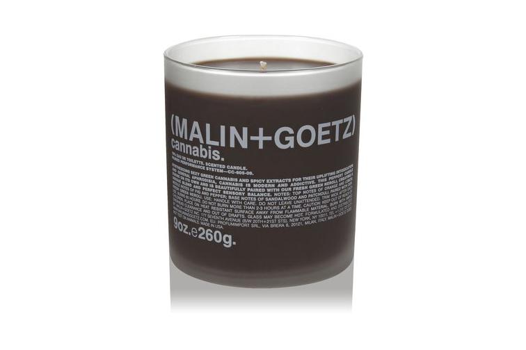 $52 Malin + Goetz Candle, Cannabis - disregard name, it's marvelously fresh, woodsy & citrusy