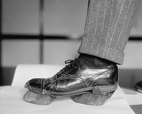 """""""Cow Shoes""""to disguise moonshiners' footprints, 1922"""