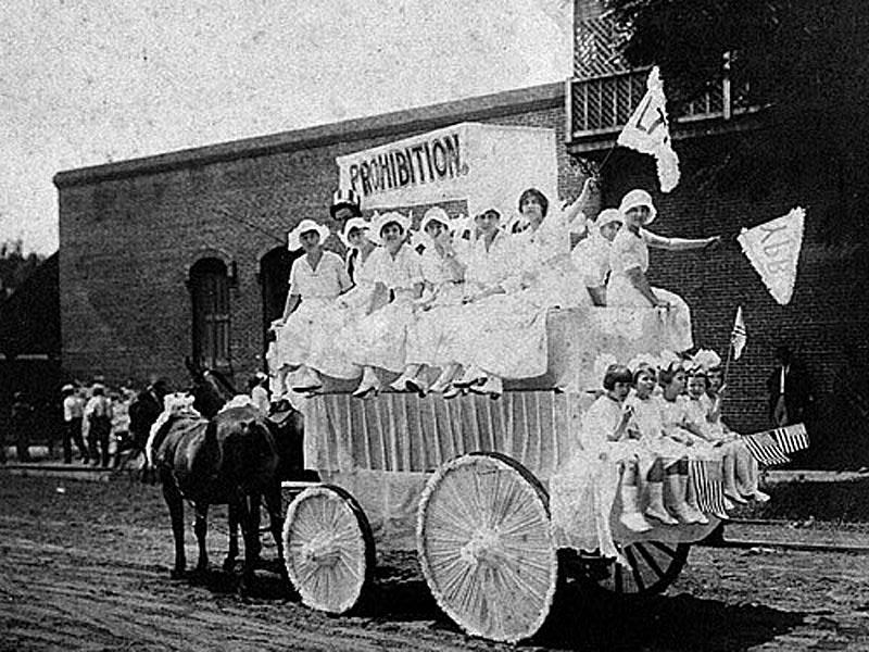 Prohibition supporters, Hawkinsville, GA, 1919