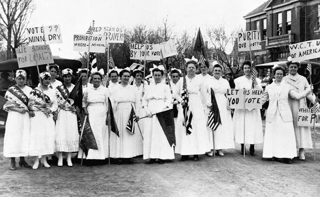 Minnesota Prohibition Supporters, late 1800s