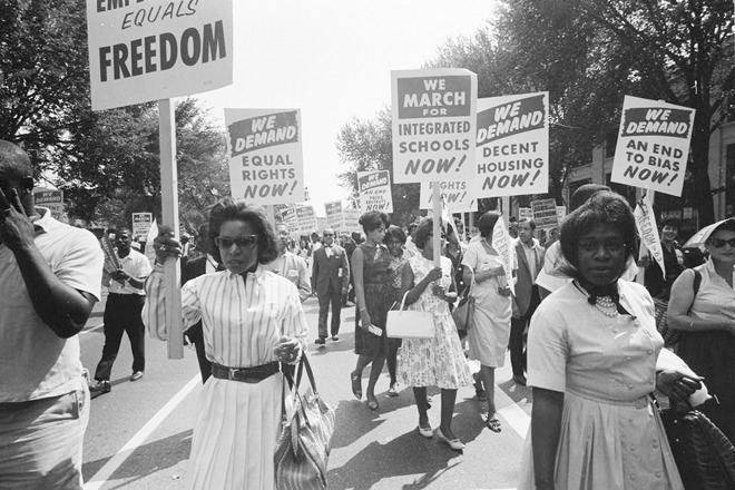 Equal Rights march, 1959
